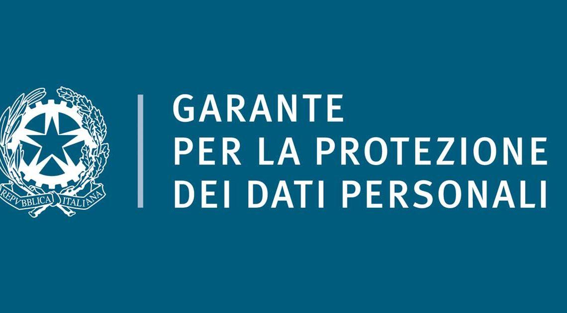Garante Protezione Dati Personali