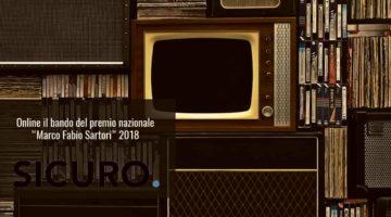 """Online il bando del premio nazionale """"Marco Fabio Sartori"""" 2018"""